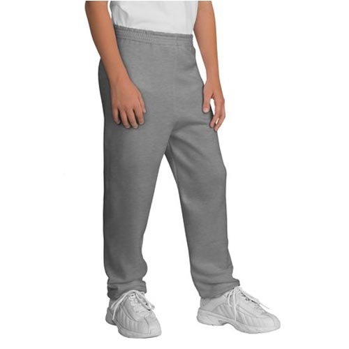 Port and Company Youth Sweatpant, Athletic Heather, Large (14-16) ()