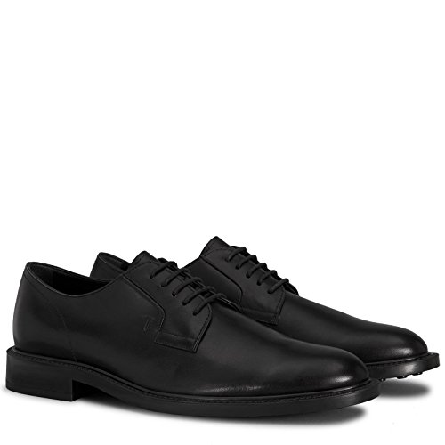 Tods Derby nere in pelle Nero XXM45A0H370D90
