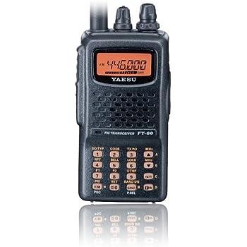amazon com yaesu ft 60r dual band handheld 5w vhf uhf amateur rh amazon com yaesu ft-60r user manual yaesu ft-60 user manual