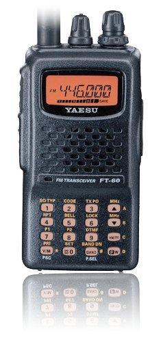 Yaesu FT-60R Dual Band Handheld 5W VHF / UHF Amateur Radio Transceiver (Best Dual Band Ham Radio)