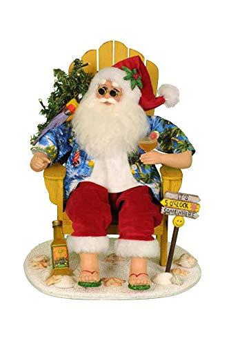 Karen Didion ''Lit Margaritaville Santa #SC26