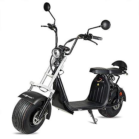 ECOXTREM Moto electrica Scooter 1200w bateria 12Ah 60v ...
