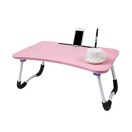 MYAOU&Laptop desk Ordenador portátil Escritorio Mesa Soporte Cama ...