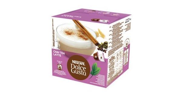 DOLCE GUSTO PACK 16 CHAI TEA LATTE: Amazon.es: Alimentación y bebidas
