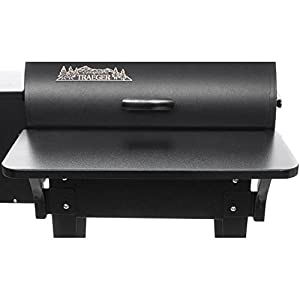 Traeger Pellet Grills BAC016 155 Flood FRT Grill Shelf from famous Traeger Pellet Grills LLC