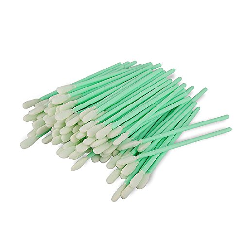 Cleanroom Swabs - SU-162VPCTS Cleaning Swabs Polyester Swab for Inkjet Printer, Printhead, Camera, Cleanroom, Optical Lens, Gun, Automotive Detailing, Optical Equipment Including 100 Pcs