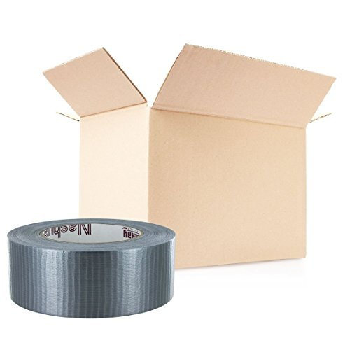 Duct Tape 2 in x 55 yd - Silver - 7 mil - 24 Pack by Nashua (Image #1)