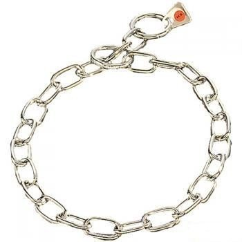 Herm Sprenger Stainless Steel Fur Saver Collar Short Link 3mm 17″/44cm, My Pet Supplies