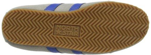 Bubblegummers Northstar Trainer, Unisex-Kinder Espadrilles Weiß (white/blue)