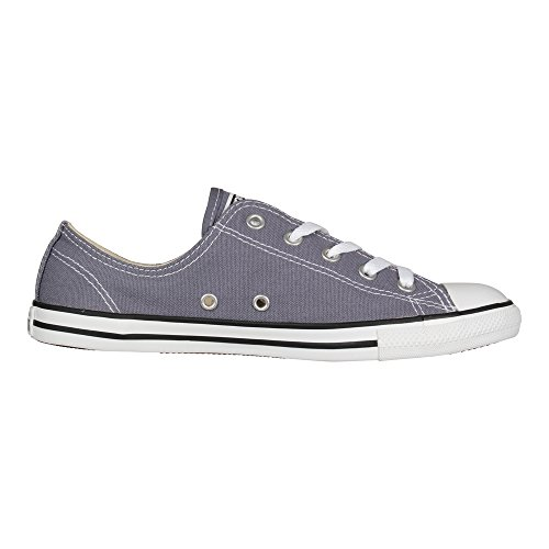 Converse All Star Dainty OX Damen Sneaker Grau Light Carbon