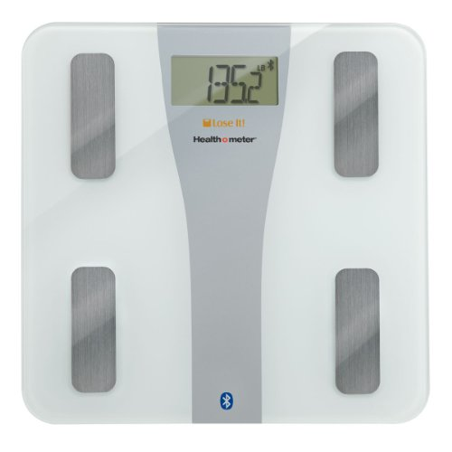 Lose It! Bluetooth Body Fat Scale by Health o Meter for Iphone ,Compatible: iPhone 4S, 5, 5C, 5S ; iPod Touch-5th gen ; iPad Mini, 3rd gen, 4th gen