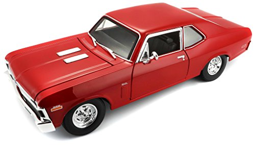 1-18 1970 Chevy Nova SS Coupe - Nova Car Diecast