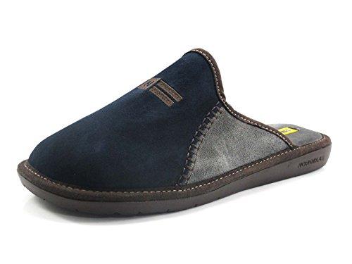 NORDIKAS, Pantofole uomo Grigio blu