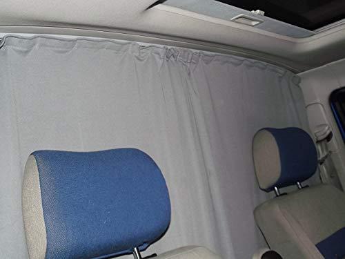 Abtrennung Fahrerhaus Sonnenschutz F/ührerhaus Gardinen Vorhang kompatiebel mit VW Caddy IV ab 2015 FB:A/_GR