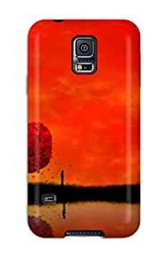 Laura Chris's Shop Best New Tpu Hard Case Premium Galaxy S5 Skin Case Cover(fading Light)