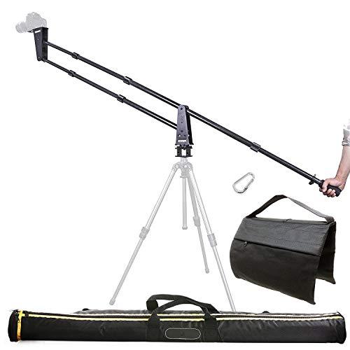 Sevenoak SK-JA20-II 7-Foot Carbon Fiber Camera Jib/Crane with 360° Panning Base and Counter Weight for DSLR Cameras - Load Capacity 11 lb (5kg)