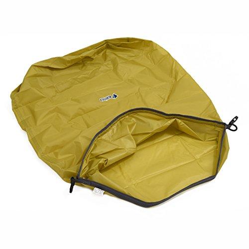 Trockentasche - BLUE FIELD im Freien wasserdichte Trockentasche fuer Kanu Kajak Floesserei Camping-koennen komprimiert werden, halten Lebensmittel, Kleidung, Geldbeutel (70L, gruen)