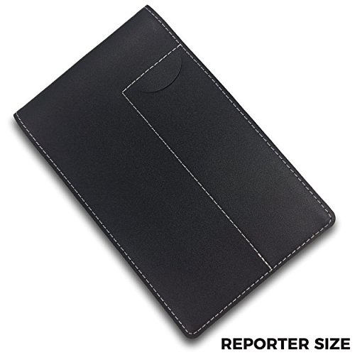 Reporter's Notebook Cover and Holder for Extra Stability - 4