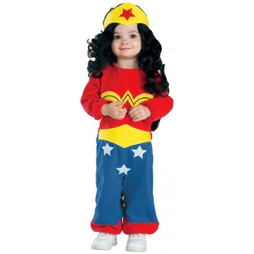 Holloween Costumes For Infants - Wonder Woman Costume - Newborn