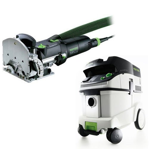 Festool DF 500 Q Domino Set with T-LOC + CT 36 Dust Extractor Package by Festool