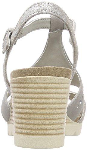 Su Co 232 Lt Caprice Sling Grey Sandals Women's 28703 Back Grey qZz8US