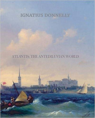Book — ATLANTIS; THE ANTEDILUVIAN WORLD