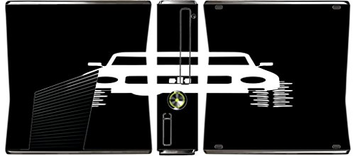 4x4 Offroad Off Road Vehicle Black Background Xbox 360 Slim (2010) Vinyl Decal Sticker Skin by Moonlight Printing (Best Off Road Games For Xbox 360)