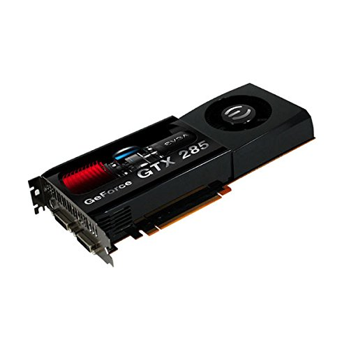 - EVGA 01G-P3-1182-AR GeForce GTX285 FTW Edition with EVGA Backplate 1024 MB DDR3 PCI-Express 2.0 Graphics Card