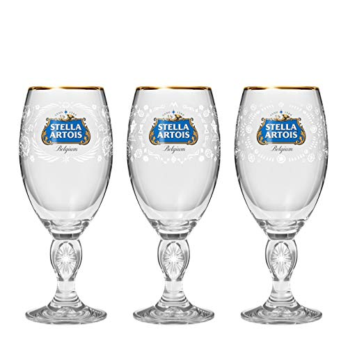 Stella Artois Better World 2019 Limited Edition Mexico, Peru, and Tanzania Chalice Gift Set, 33cl]()