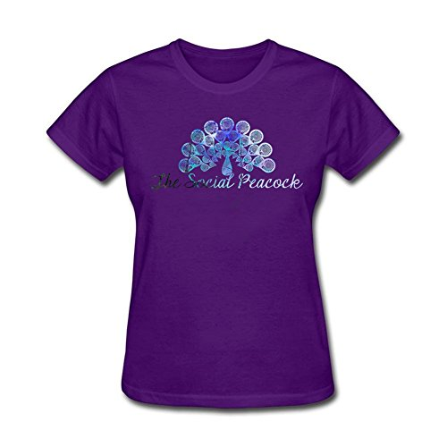 design-tee-women-the-social-peacocks-shirts-short-sleeve-tops-purple-m