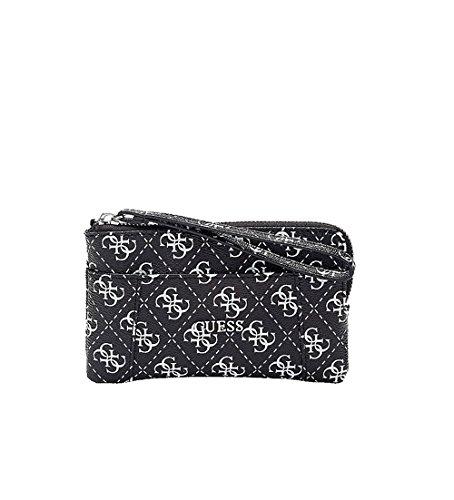 0d89dc5eee Guess Petite pochette de la gamme Delaney pour femme: Amazon.fr ...