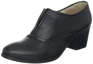 FRYE Women's Courtney Slip-On Vintage Oxford, Black, 5.5 M US