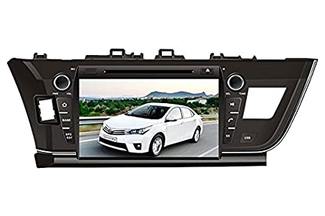 9 Inch Touch Screen Car GPS Navigation for TOYOTA Corolla 2013-2016 Stereo DVD Player