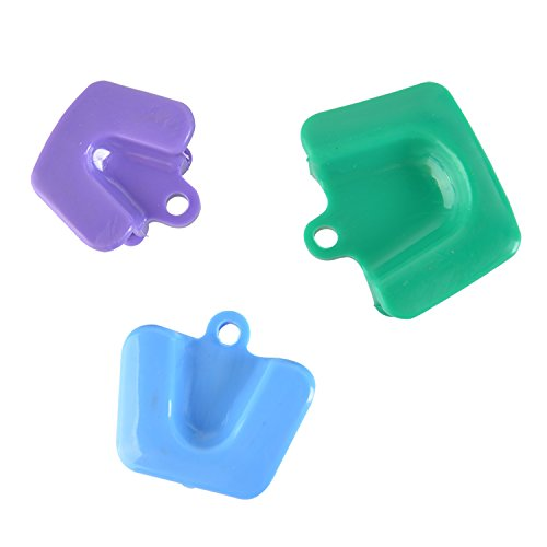 AZDENT Dental Silicone Mouth Prop Mouth Bites Block (3pcs/pack)