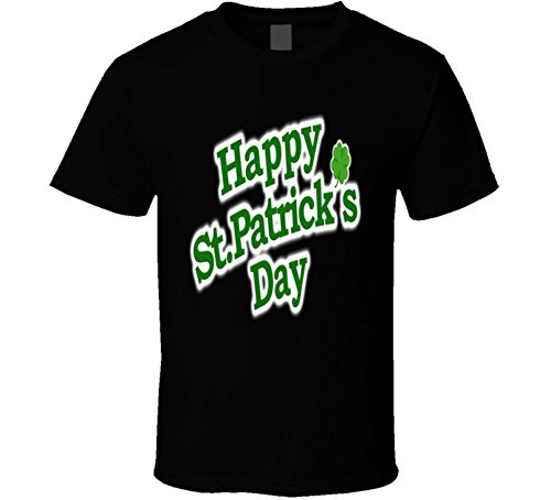 lagify Happy ST. Patrick Day Typographic Design Shirt 6XL Black