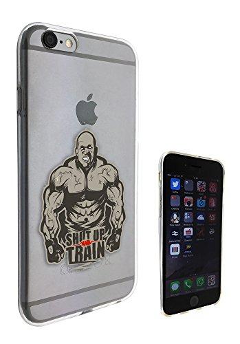 c0166 - Gym Workout Shut Up Train Design Pour iphone 5C Protecteur Coque Gel Rubber Silicone protection Case Coque