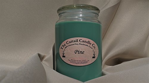 Cattail Candle (Pine - 100% Soy Candle, 24 fl oz)
