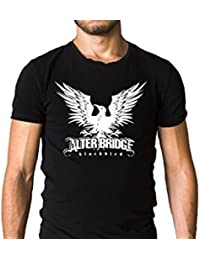 Alter Bridge Band Blackbird Logo Black T-Shirt