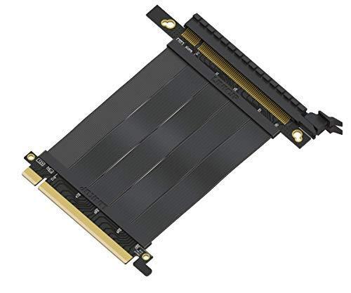 LINKUP PCIe 3.0 [Desarrollado para Futuro 4.0] 16x64GB/s Tarjeta de Extensión de Puerto de Cable Riser/Elevador PCI Express...