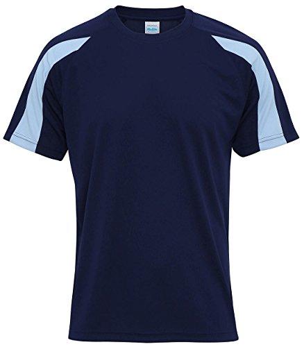 hombre Navy Absab corta Oxford Camiseta Blue Ltd Sky manga para de wxqATf6Px e964e6d7bcd