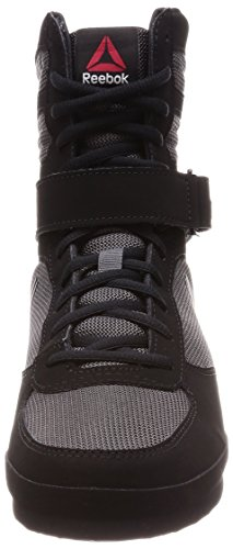 Boot 000 ash black De Chaussures Boxe Grey Boxing Noir Reebok Buck Sn4fq