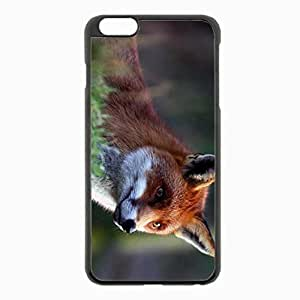 iPhone 6 Plus Black Hardshell Case 5.5inch - hair beautiful Desin Images Protector Back Cover