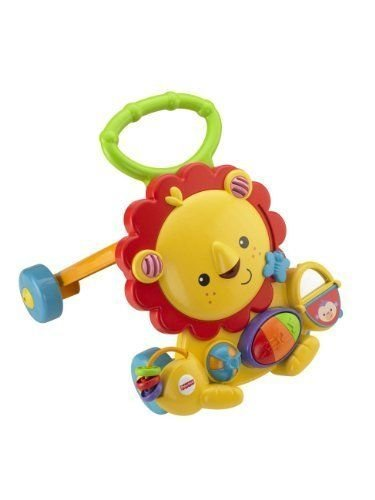 Kids Toy Musical Lion Walker Toddler Infant Development Activity