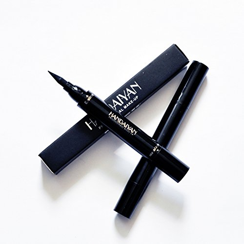 Eyeliner Stamp -Waterproof Makeup Cosmetic winged long lasting eye liner pen Black Liquid