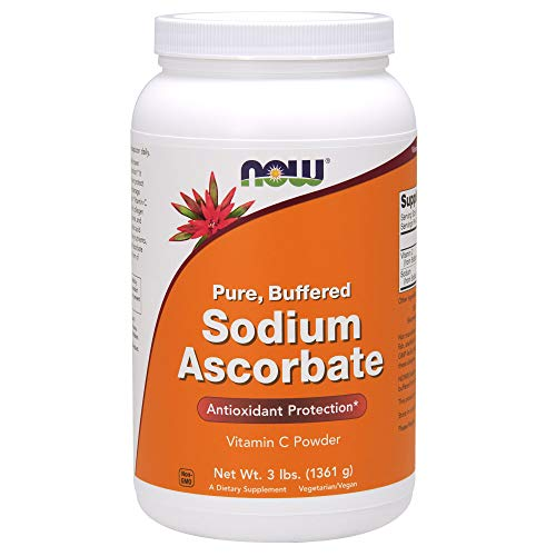 NOW  Sodium Ascorbate, 3-pound