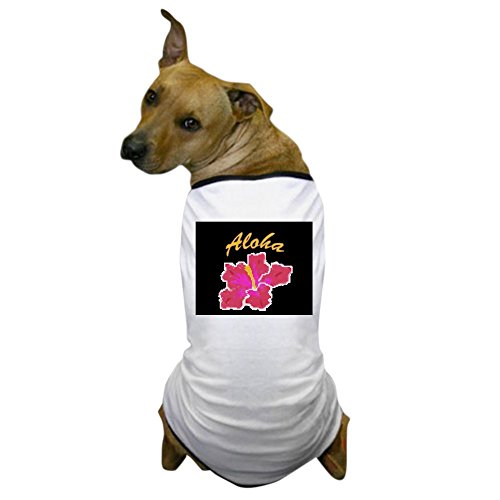 [CafePress - Aloha T-Shirts Apparel<br>& Dog T-Shirt - Dog T-Shirt, Pet Clothing, Funny Dog Costume] (Hawiian Costumes)