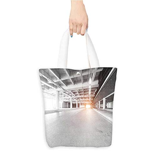 Long Handled Tote Bag roa at tunnel Practical and Eco-Friendly W16.5 x H14 x D7 INCH
