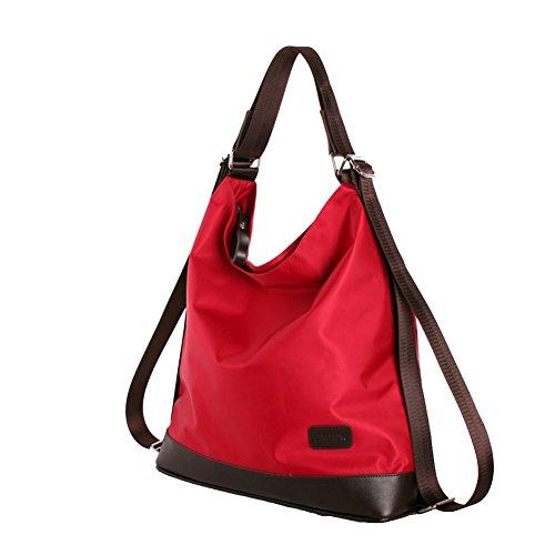 CloudBag Fashion Luxury Water Women Shoulder Bag Shoulder Bag Multi-Functional Bag Handbag (red) (Toddler Mossy Oak Flower Girl Dress)