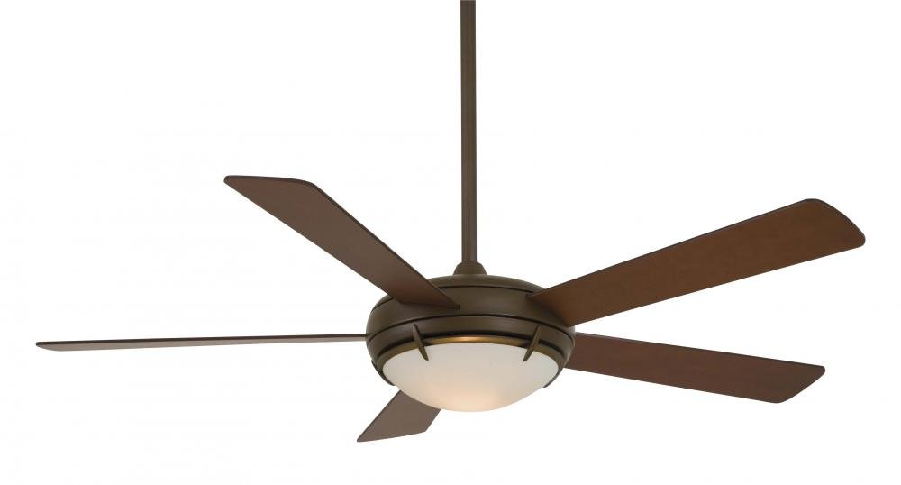 Minka-Aire F603-ORB, Como, 54'' Ceiling Fan with Light, Oil Rubbed Bronze