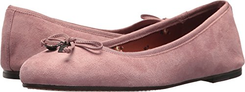 Coach Ballet Shoes (Coach Women's Lola Ballet Dusty Rose Suede 9 M US)